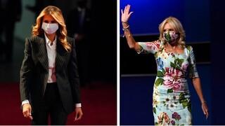 Εκλογές ΗΠΑ: Μελάνια Τραμπ vs Τζιλ Μπάιντεν - Ποια θα είναι η νέα πρώτη κυρία;