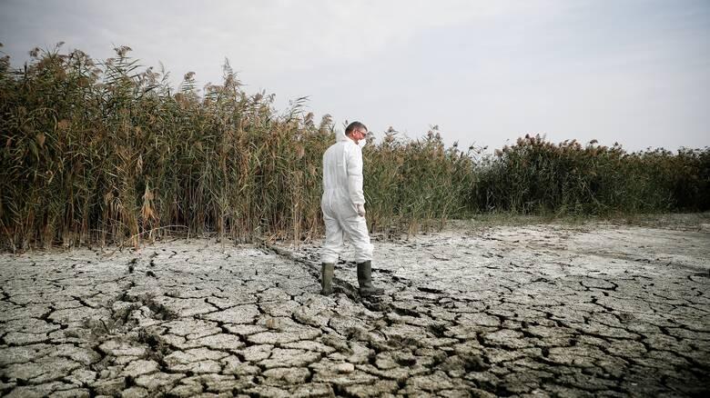 Θεσσαλονίκη: Παραμένει ο κίνδυνος νέας κατάρρευσης στη λίμνη Κορώνεια
