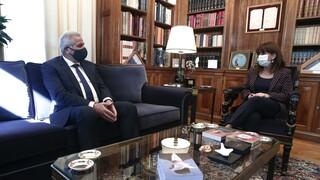 Συνάντηση ΠτΔ με τον γγ του ΑΚΕΛ: Στο επίκεντρο οι εξελίξεις στη Νοτιοανατολική Μεσόγειο