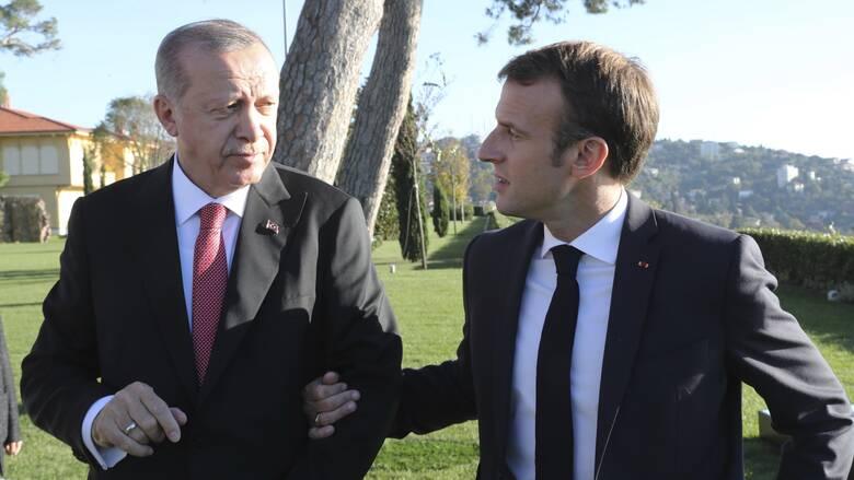 Αυστηρό μήνυμα Μακρόν σε Ερντογάν: Σεβάσου και μην προσβάλλεις τις αξίες της ΕΕ