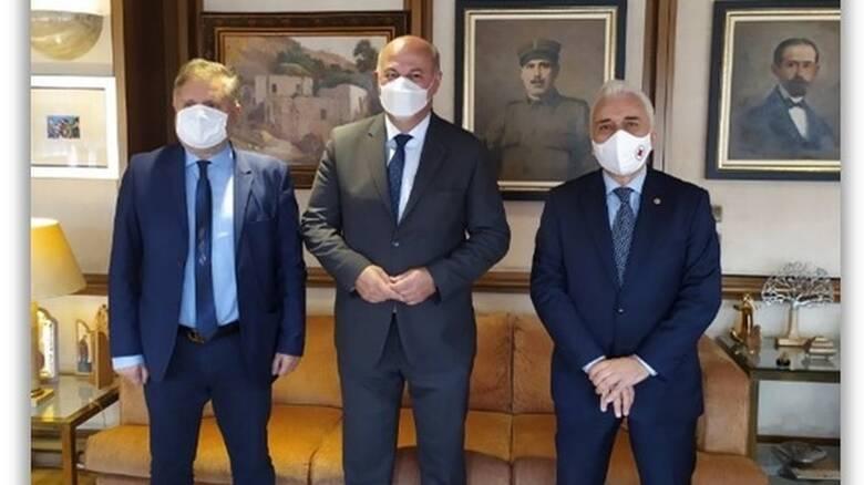 Μνημόνιο Συνεργασίας Ελληνικού Ερυθρού Σταυρού με το Υπουργείο Δικαιοσύνης