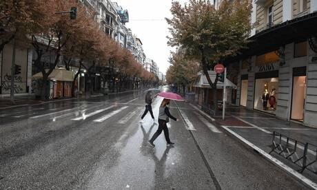 Κορωνοϊός: Πόλη - «φάντασμα» η Θεσσαλονίκη κατά την πρώτη ημέρα του lockdown