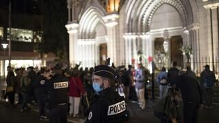 Γαλλία: Θετικός στον κορωνοϊό ο Τυνήσιος που σκότωσε τρεις στην εκκλησία της Νίκαιας