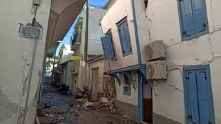 Σεισμός Σάμος: Kοντέινερ και σκηνές για την προσωρινή στέγαση των κατοίκων