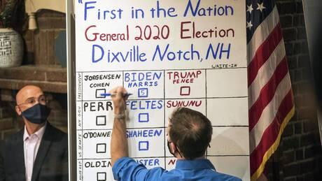 Εκλογές ΗΠΑ: Στον Μπάιντεν και οι… πέντε ψήφοι μικρού χωριού