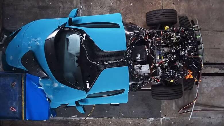 Το ηλεκτρικό hyper car Rimac C_Two των 1.915 ίππων υποβάλλεται σε εξαντλητικά crash test