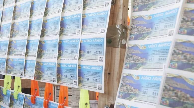 Το Λαϊκό Λαχείο μοίρασε περισσότερα από 5,6 εκατομμύρια ευρώ τον Οκτώβριο