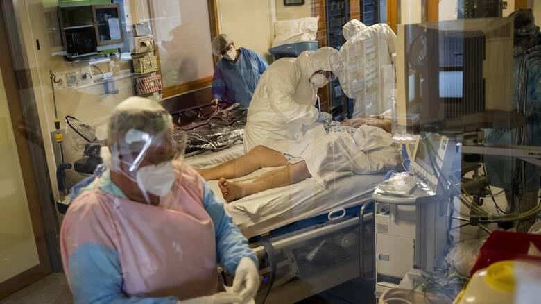 Κορωνοϊός - Βέλγιο: Με αεροδιακομιδή στη Γερμανία οι βαριά ασθενείς