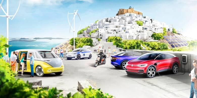 Ο όμιλος Volkswagen επενδύει στην Αστυπάλαια για την ανάπτυξη της ηλεκτροκίνησης