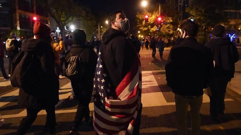 Εκλογές ΗΠΑ: Επεισόδια στον Λευκό Οίκο - Πληροφορίες για τέσσερις τραυματίες