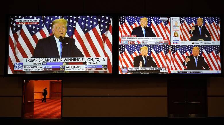 Εκλογές ΗΠΑ: Ο Τραμπ αμφισβητεί τα αποτελέσματα