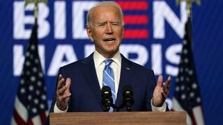 Εκλογές ΗΠΑ - Μπάιντεν: Όταν τελειώσει η καταμέτρηση θα είμαστε νικητές