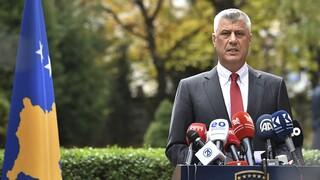 Κόσοβο: Παραιτήθηκε αιφνιδιαστικά από την προεδρία ο Χασίμ Θάτσι