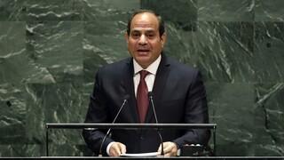 Συνάντηση Αλ Σίσι - Μισέλ για τρομοκρατικές επιθέσεις και μονομερείς ενέργειες στη Μεσόγειο