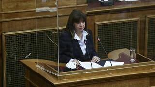 Σακελλαροπούλου: Ύψιστη προτεραιότητα για τη χώρα η προστασία του κλίματος