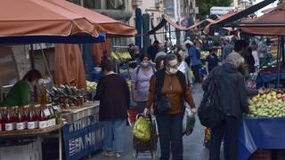 Lockdown: Σαρωτικοί έλεγχοι - Πρόστιμο 18.000 ευρώ σε λαϊκή αγορά