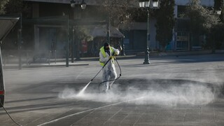 Δήμος Αθηναίων: Μεγάλη δράση καθαριότητας-απολύμανσης στον Άγιο Παύλο