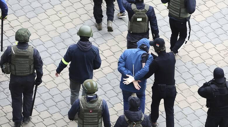 Λευκορωσία: Εκατοντάδες συλλήψεις σε διαδήλωση της αντιπολίτευσης