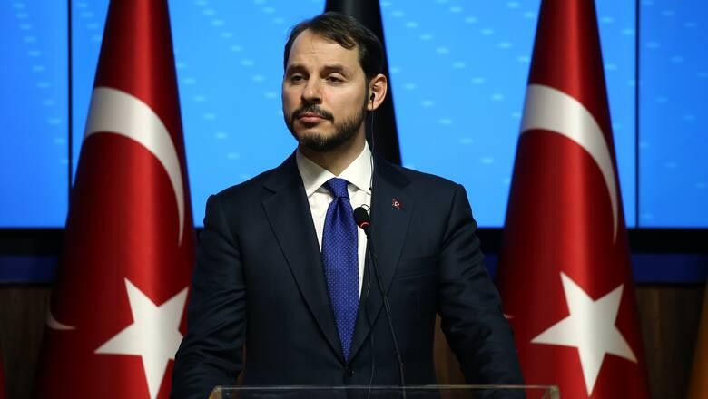 Παραιτήθηκε ο υπουργός Οικονομικών της Τουρκίας Μπεράτ Αλμπαϊράκ