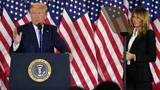 Εκλογές ΗΠΑ - Μελάνια Τραμπ: Ο αμερικανικός λαός αξίζει δίκαιες εκλογές