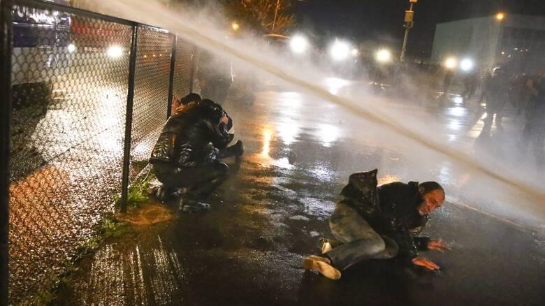 Γεωργία: Η αστυνομία έκανε χρήση κανονιών νερού εναντίον διαδηλωτών