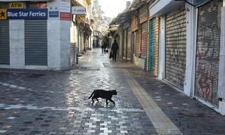 Lockdown: Κλειστά μαγαζιά και ερημιά - Μια Ερμού... διαφορετική