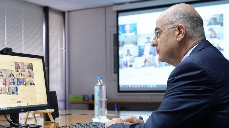 Δένδιας: Κρίσιμη πτυχή των σχέσεων ΕΕ - αραβικού κόσμου η προσήλωση στο Διεθνές Δίκαιο