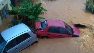 Κακοκαιρία: «Πνίγεται» η Κρήτη από την κακοκαιρία - Δρόμοι «ποτάμια» και μεγάλες ζημιές