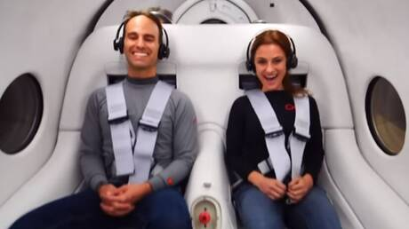 Hyperloop: Πρώτο ταξίδι με επιβάτες για το φουτουριστικό σύστημα μεταφορών