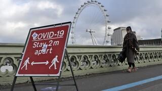 Βρετανία: Το lockdown ψηφίστηκε η λέξη της χρονιάς από το αγγλικό λεξικό Collins