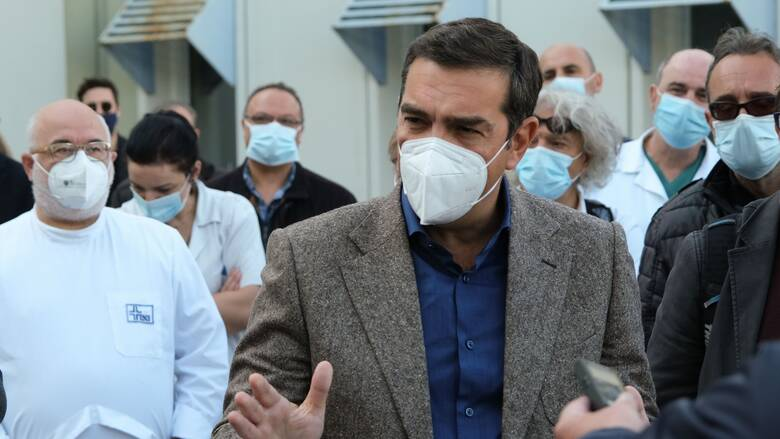 Τσίπρας: Εκληματική η κυβερνητική ολιγωρία και αδράνεια στη δημόσια Υγεία και Παιδεία