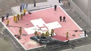 ΗΠΑ: Ελικόπτερο που μετέφερε ανθρώπινη καρδιά για μεταμόσχευση συνετρίβη σε οροφή νοσοκομείου