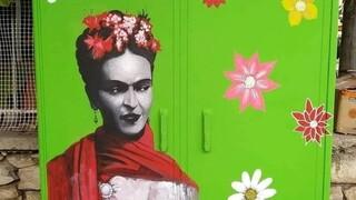 Παλαιό Φάληρο: Μια γκαλερί τέχνης που έδωσε ζωή στα γκρίζα ΚΑΦΑΟ