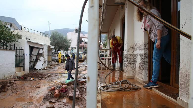 Κρήτη: Οι κάτοικοι μετρούν πληγές - Μεγάλες οι καταστροφές σε Χερσόνησο, Μάλια και Σταλίδα
