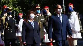 Αλ Σίσι σε Σακελλαροπούλου: Η Αίγυπτος υπέρ της Ελλάδας στα θέματα θαλάσσιων συνόρων