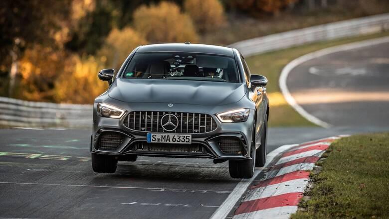Η τετράθυρη Mercedes-AMG GT 63 S 4MATIC+ είναι το ταχύτερο μοντέλο πολυτελείας στο Nürburgring