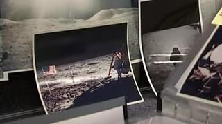 Σπάνια φωτογραφία του Νιλ Άρμστρονγκ στην επιφάνεια της Σελήνης βγαίνει «στο σφυρί»