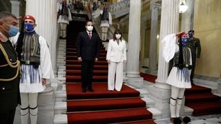 Σακελλαροπούλου - Αλ Σίσι: Πρότυπο στρατηγικής συνεργασίας οι σχέσεις Ελλάδας-Αιγύπτου