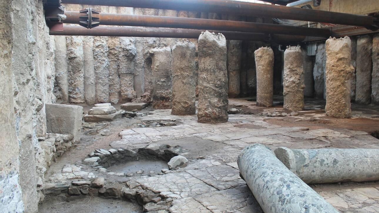 Το ΚΑΣ απαντά για τα αρχαία του σταθμού Βενιζέλου: Μόνη λύση ήταν η μεταφορά των αρχαίων