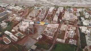 Κακοκαιρία: Συγκλονιστικό βίντεο από ψηλά αποκαλύπτει την καταστροφή στην Κρήτη