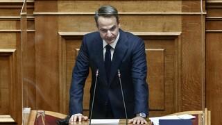 Βουλή: Ανεβάζει τους τόνους ο Μητσοτάκης - Κατηγόρησε τον Τσίπρα για «Πολακισμό»