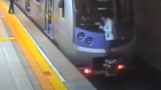 Απίστευτο βίντεο: Μια... αντισυμβατική βόλτα με το μετρό