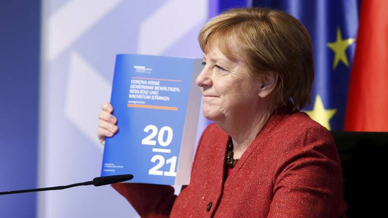 Γερμανία: Γιατί ο κορωνοϊός έκανε... καλό στην Άνγκελα Μέρκελ