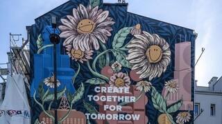 «Τα δάση των πόλεων»: Οι τοιχογραφίες που απορροφούν τη ρύπανση της ατμόσφαιρας