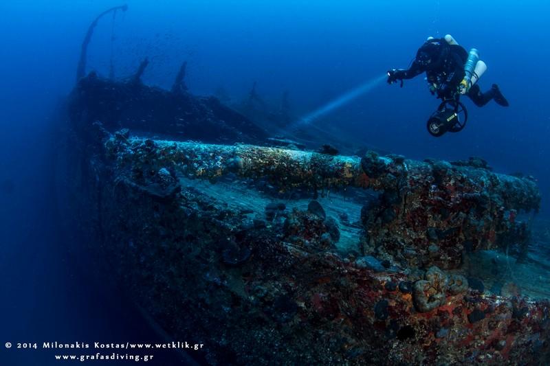 Ναυάγιο Γαλλικό υπερωκεάνειο SS Burdigala