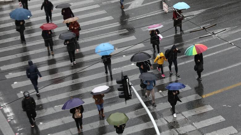 Καιρός: Nεφώσεις σε ολόκληρη τη χώρα το Σάββατο – Πού θα εκδηλωθούν βροχές