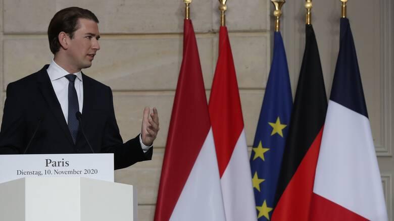 Υπέρ της επιβολής κυρώσεων σε βάρος της Τουρκίας ο Αυστριακός καγκελάριος Κουρτς