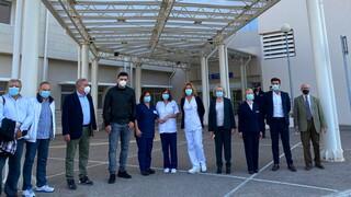 Επίσκεψη Κικίλια στο νοσοκομείο Χαλκίδας - «Η χώρα είναι μία υγειονομική περιφέρεια»