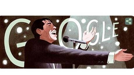 Ζακ Μπρελ: Η Google τιμά με Doodle τον σπουδαίο Βέλγο τραγουδιστή