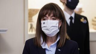 Κορωνοϊός - Σακελλαροπούλου: Στόχος παραμένει η διαφύλαξη της δημόσιας υγείας
